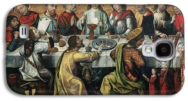 Baptist Paintings Galaxy S4 Cases - The Last Supper Galaxy S4 Case by Godefroy