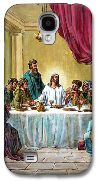 Last Supper Galaxy S4 Cases - The Last Supper Galaxy S4 Case by John Lautermilch