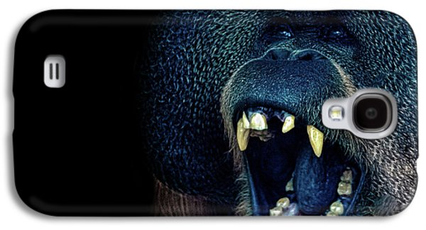The Laughing Orangutan Galaxy S4 Case