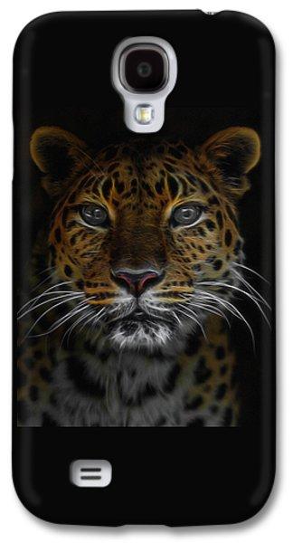 The Leopard Digital Art Galaxy S4 Case