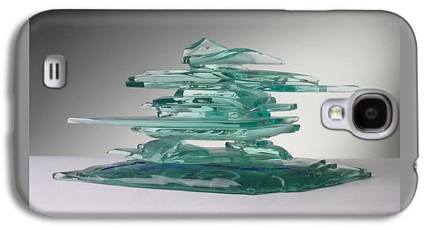 Contemporary Glass Galaxy S4 Cases - The Life Galaxy S4 Case by Mykel Davis