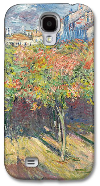 The Lime Trees At Poissy Galaxy S4 Case by Claude Monet