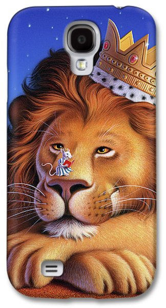 Mice Galaxy S4 Case - The Lion King by Jerry LoFaro