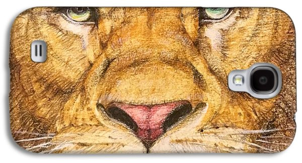 The Lion Roar Of Freedom Galaxy S4 Case by Kent Chua
