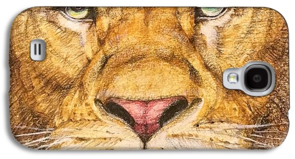 Detail Galaxy S4 Case - The Lion Roar Of Freedom by Kent Chua