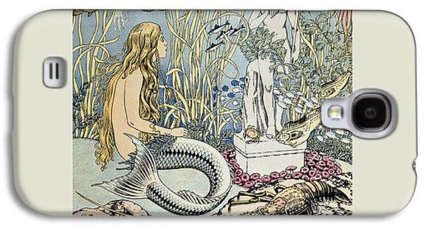The Little Mermaid Galaxy S4 Case by Ivan Jakovlevich Bilibin