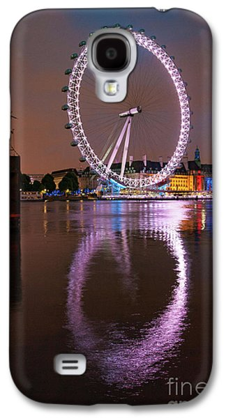 The London Eye Galaxy S4 Case by Nichola Denny