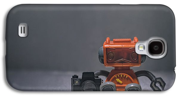 The Lonely Robot Photographer Galaxy S4 Case