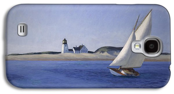 The Long Leg Galaxy S4 Case by Edward Hopper