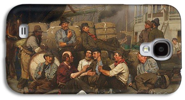The Longshoremen's Noon Galaxy S4 Case by John George Brown