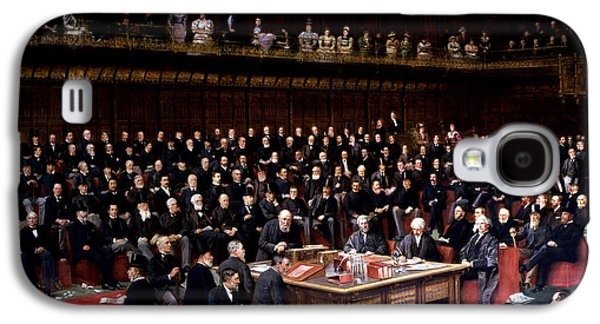 The Lord Chancellor About To Put The Question In The Debate About Home Rule In The House Of Lords Galaxy S4 Case