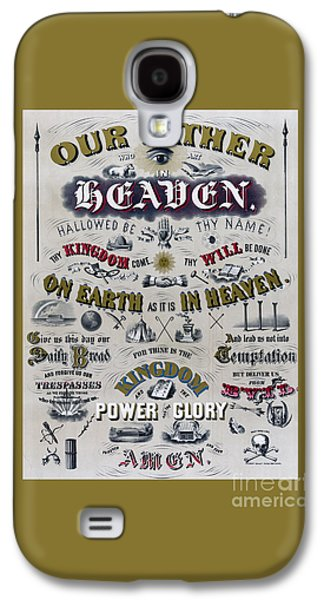 The Lords Prayer Galaxy S4 Case by Edward Fielding