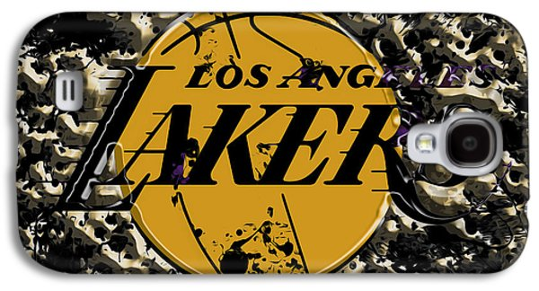The Los Angeles Lakers B3a Galaxy S4 Case by Brian Reaves