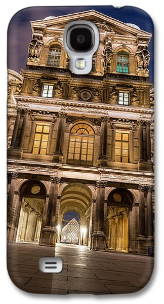Louvre Galaxy S4 Case - The Louvre Museum At Night by James Udall