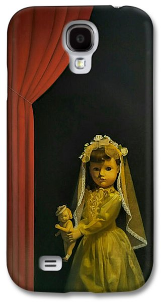 The Madonna And Child Galaxy S4 Case by Weiyu Xia