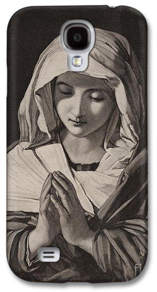 The Madonna In Prayer Galaxy S4 Case