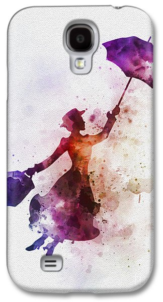 London Galaxy S4 Case - The Magical Nanny by Rebecca Jenkins