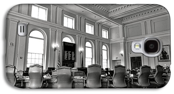 The Maine Senate Chamber Galaxy S4 Case by Olivier Le Queinec