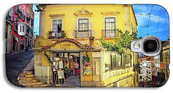 The Many Colors Of Lisbon Old Town  Galaxy S4 Case