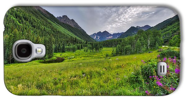 The Maroon Bells - Maroon Lake - Colorado Galaxy S4 Case