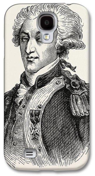 The Marquis De Lafayette Galaxy S4 Case by American School