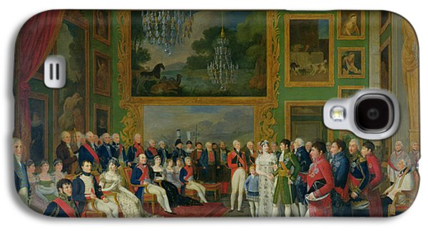 The Marriage Of Eugene De Beauharnais Galaxy S4 Case by Francois Guillaume Menageot