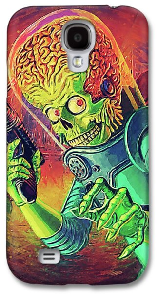 Jack Nicholson Galaxy S4 Case - The Martian - Mars Attacks by Taylan Soyturk