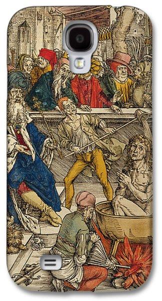 The Martyrdom Of St John Galaxy S4 Case by Albrecht Durer or Duerer