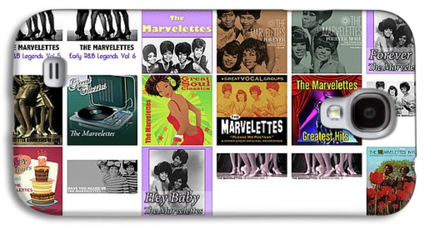 Rhythm And Blues Galaxy S4 Case - The Marvelettes 1 by Smart Aviation