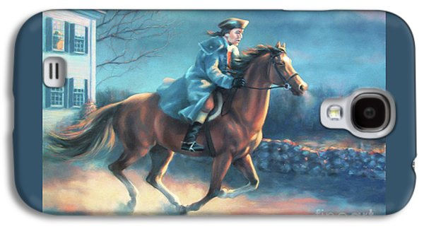The Midnight Ride Of Paul Revere Galaxy S4 Case by Dale Tremblay
