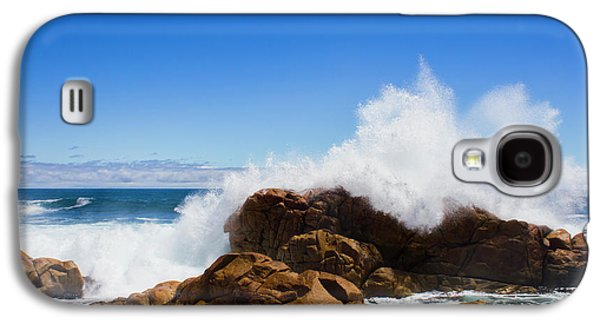 Galaxy S4 Case featuring the photograph The Might Of The Ocean by Jorgo Photography - Wall Art Gallery