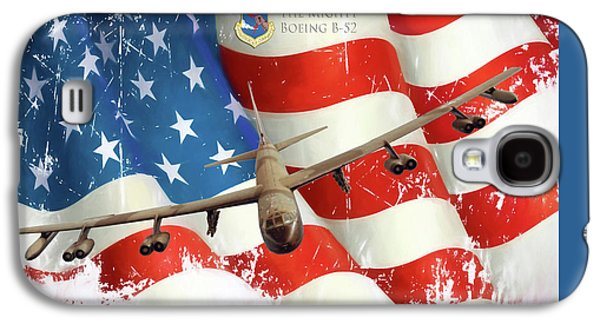 The Mighty B-52 Galaxy S4 Case by Peter Chilelli