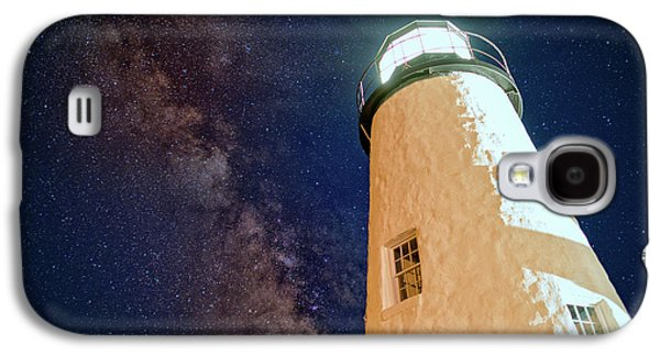 The Milky Way Over Pemaquid Point Galaxy S4 Case