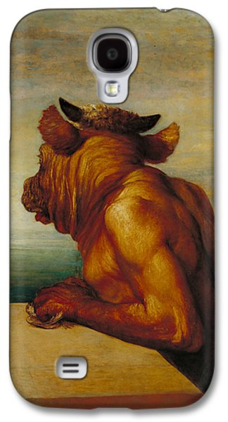 The Minotaur Galaxy S4 Case by George Frederic Watts