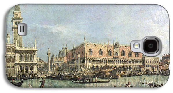 The Molo And The Piazzetta San Marco Galaxy S4 Case by Canaletto