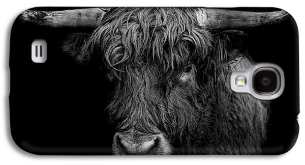 Bull Galaxy S4 Case - The Monarch by Paul Neville