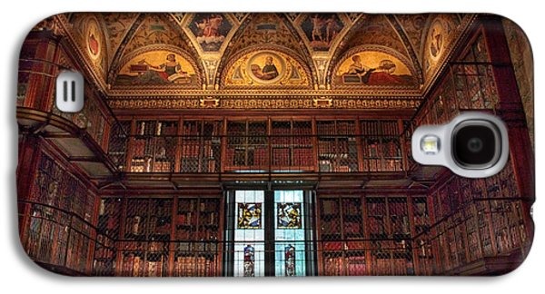 Galaxy S4 Case featuring the photograph The Morgan Library Window by Jessica Jenney