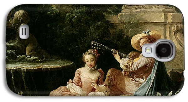 The Music Lesson Galaxy S4 Case by Francois Boucher