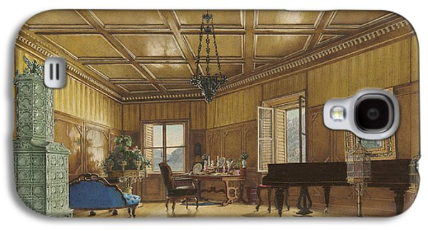 The Music Room Of Archduchess Margarete  Princess Of Saxony Galaxy S4 Case by Heinrich Von Forster