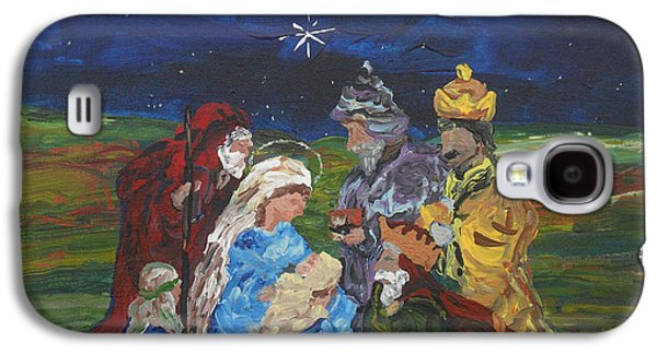 The Nativity Galaxy S4 Case by Reina Resto
