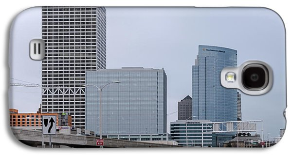 Galaxy S4 Case featuring the photograph The New Milwaukee Skyline by Randy Scherkenbach