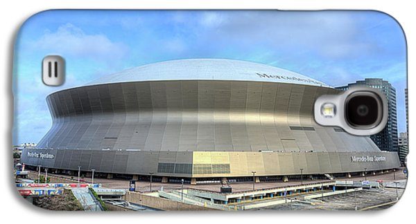 Galaxy S4 Case featuring the photograph The New Orleans Superdome by JC Findley