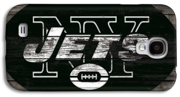 The New York Jets 3h Galaxy S4 Case by Brian Reaves