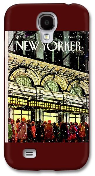 The New Yorker Cover - January 18th, 1988 Galaxy S4 Case