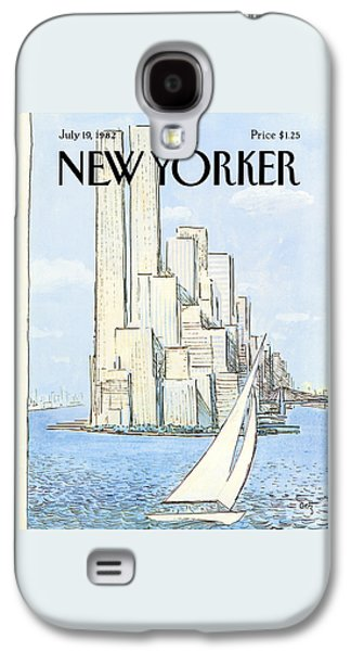 The New Yorker Cover - July 19th, 1982 Galaxy S4 Case