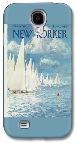 The New Yorker Cover - June 13th, 1959 Galaxy S4 Case