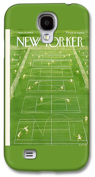 The New Yorker Cover - June 25th, 1960 Galaxy S4 Case