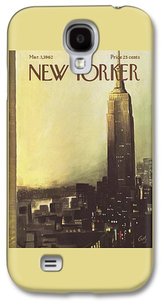 The New Yorker Cover - March 3rd, 1962 Galaxy S4 Case
