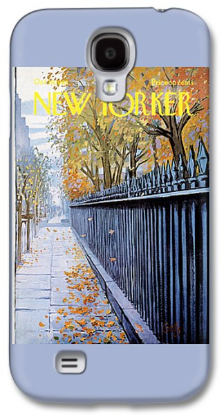 Autumn In New York Galaxy S4 Case