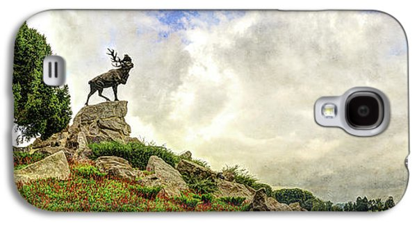 The Newfoundland Caribou And The Trenches - Vintage Version Galaxy S4 Case